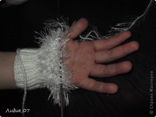 Мастер-класс Вязание: Варежки-Мышки Пряжа. Фото 5