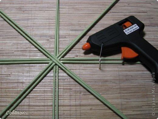 Мастер-класс Плетение: МК - Шкатулка из бумаги. Бумага газетная, Трубочки бумажные. Фото 4