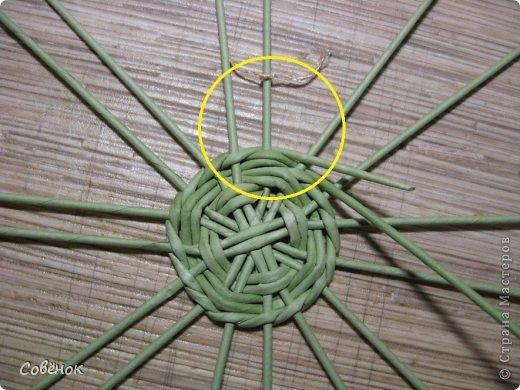 Мастер-класс Плетение: МК - Шкатулка из бумаги. Бумага газетная, Трубочки бумажные. Фото 8