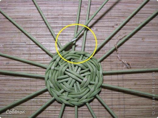 Мастер-класс Плетение: МК - Шкатулка из бумаги. Бумага газетная, Трубочки бумажные. Фото 9