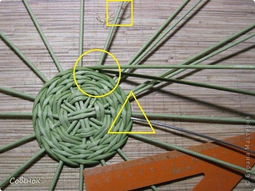 Мастер-класс Плетение: МК - Шкатулка из бумаги. Бумага газетная, Трубочки бумажные. Фото 10