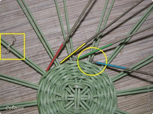 Мастер-класс Плетение: МК - Шкатулка из бумаги. Бумага газетная, Трубочки бумажные. Фото 11
