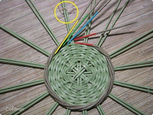 Мастер-класс Плетение: МК - Шкатулка из бумаги. Бумага газетная, Трубочки бумажные. Фото 12