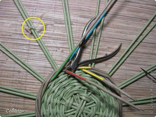 Мастер-класс Плетение: МК - Шкатулка из бумаги. Бумага газетная, Трубочки бумажные. Фото 14