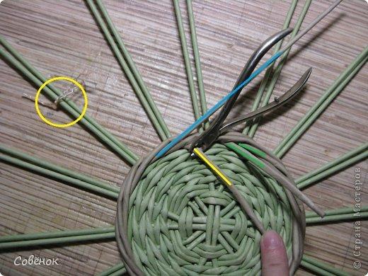 Мастер-класс Плетение: МК - Шкатулка из бумаги. Бумага газетная, Трубочки бумажные. Фото 16