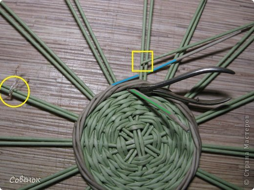 Мастер-класс Плетение: МК - Шкатулка из бумаги. Бумага газетная, Трубочки бумажные. Фото 17