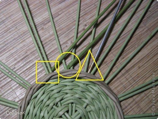 Мастер-класс Плетение: МК - Шкатулка из бумаги. Бумага газетная, Трубочки бумажные. Фото 18