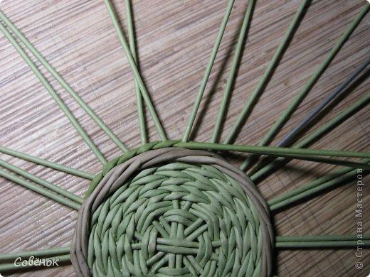 Мастер-класс Плетение: МК - Шкатулка из бумаги. Бумага газетная, Трубочки бумажные. Фото 19