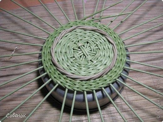Мастер-класс Плетение: МК - Шкатулка из бумаги. Бумага газетная, Трубочки бумажные. Фото 22