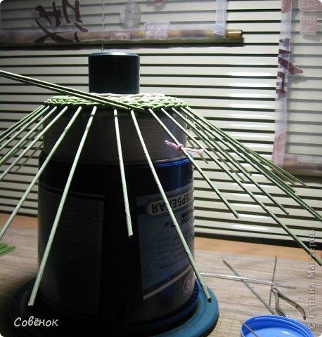 Мастер-класс Плетение: МК - Шкатулка из бумаги. Бумага газетная, Трубочки бумажные. Фото 25