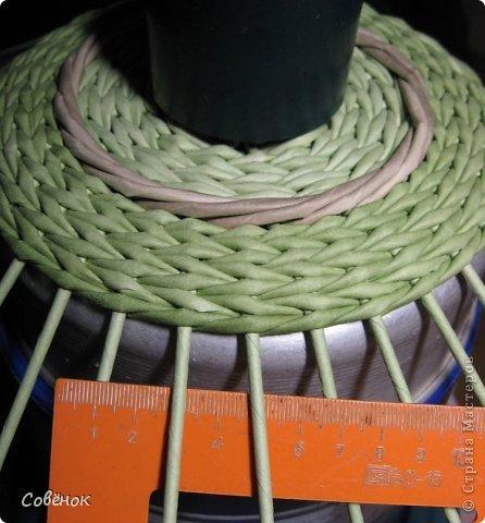 Мастер-класс Плетение: МК - Шкатулка из бумаги. Бумага газетная, Трубочки бумажные. Фото 26
