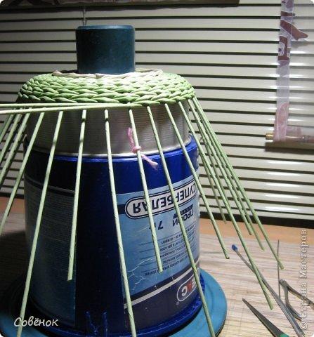 Мастер-класс Плетение: МК - Шкатулка из бумаги. Бумага газетная, Трубочки бумажные. Фото 27