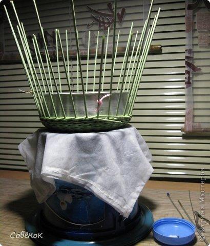 Мастер-класс Плетение: МК - Шкатулка из бумаги. Бумага газетная, Трубочки бумажные. Фото 28