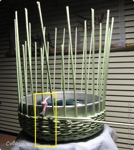 Мастер-класс Плетение: МК - Шкатулка из бумаги. Бумага газетная, Трубочки бумажные. Фото 29