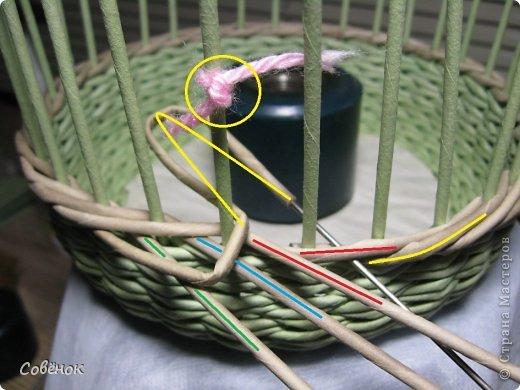 Мастер-класс Плетение: МК - Шкатулка из бумаги. Бумага газетная, Трубочки бумажные. Фото 32