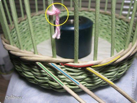 Мастер-класс Плетение: МК - Шкатулка из бумаги. Бумага газетная, Трубочки бумажные. Фото 33