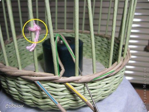 Мастер-класс Плетение: МК - Шкатулка из бумаги. Бумага газетная, Трубочки бумажные. Фото 34