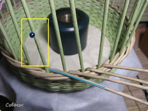 Мастер-класс Плетение: МК - Шкатулка из бумаги. Бумага газетная, Трубочки бумажные. Фото 36