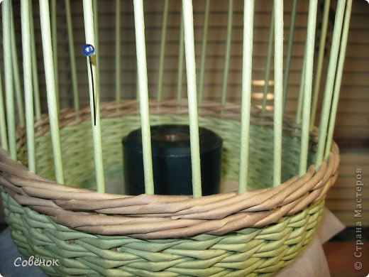 Мастер-класс Плетение: МК - Шкатулка из бумаги. Бумага газетная, Трубочки бумажные. Фото 37
