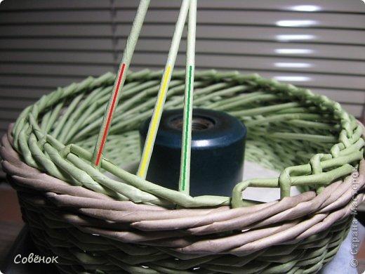 Мастер-класс Плетение: МК - Шкатулка из бумаги. Бумага газетная, Трубочки бумажные. Фото 42