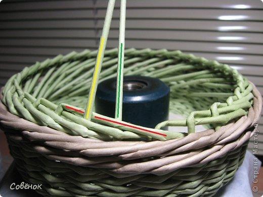 Мастер-класс Плетение: МК - Шкатулка из бумаги. Бумага газетная, Трубочки бумажные. Фото 43