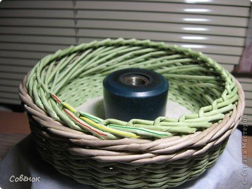 Мастер-класс Плетение: МК - Шкатулка из бумаги. Бумага газетная, Трубочки бумажные. Фото 45