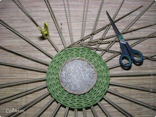 Мастер-класс Плетение: МК - Шкатулка из бумаги. Бумага газетная, Трубочки бумажные. Фото 54