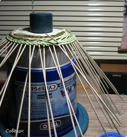 Мастер-класс Плетение: МК - Шкатулка из бумаги. Бумага газетная, Трубочки бумажные. Фото 60