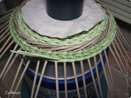 Мастер-класс Плетение: МК - Шкатулка из бумаги. Бумага газетная, Трубочки бумажные. Фото 61