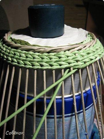 Мастер-класс Плетение: МК - Шкатулка из бумаги. Бумага газетная, Трубочки бумажные. Фото 62