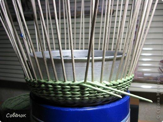 Мастер-класс Плетение: МК - Шкатулка из бумаги. Бумага газетная, Трубочки бумажные. Фото 64