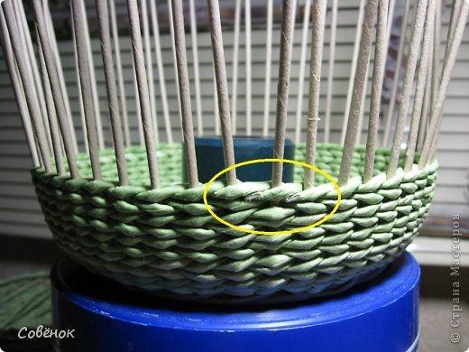 Мастер-класс Плетение: МК - Шкатулка из бумаги. Бумага газетная, Трубочки бумажные. Фото 65