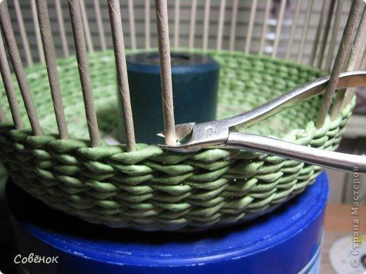Мастер-класс Плетение: МК - Шкатулка из бумаги. Бумага газетная, Трубочки бумажные. Фото 66
