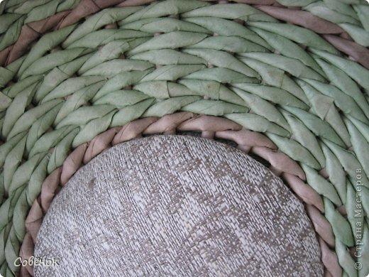 Мастер-класс Плетение: МК - Шкатулка из бумаги. Бумага газетная, Трубочки бумажные. Фото 72