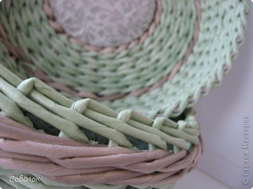 Мастер-класс Плетение: МК - Шкатулка из бумаги. Бумага газетная, Трубочки бумажные. Фото 73