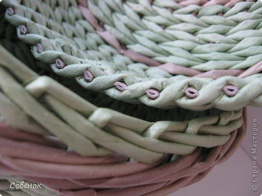 Мастер-класс Плетение: МК - Шкатулка из бумаги. Бумага газетная, Трубочки бумажные. Фото 74