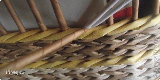 Мастер-класс Плетение: МК закрытия косого плетения Трубочки бумажные. Фото 2