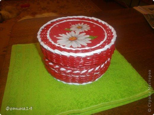 Поделка, изделие Плетение: Разное Трубочки бумажные. Фото 1