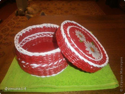 Поделка, изделие Плетение: Разное Трубочки бумажные. Фото 3