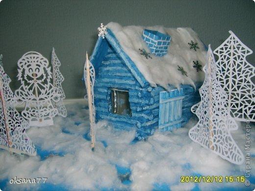 Зимняя сказка Бумага Новый год. Фото 1