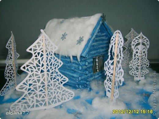 Зимняя сказка Бумага Новый год. Фото 2