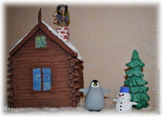 """""""Зимняя сказка""""-поделка в детский сад Новый год. Фото 6"""