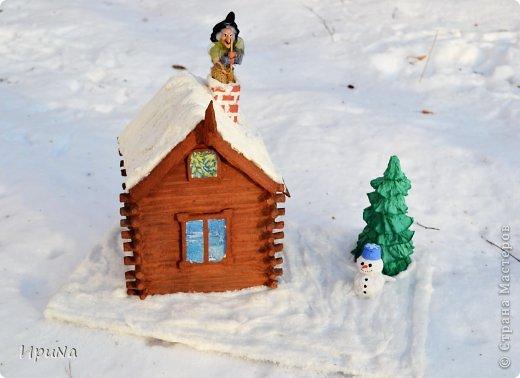 """""""Зимняя сказка""""-поделка в детский сад Новый год. Фото 1"""