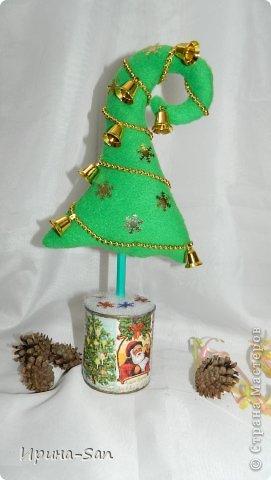 Игрушка, Куклы Шитьё: Подготовка к Новому году. Картина 1-ая, флисовая ))) Капрон, Ткань Новый год. Фото 4