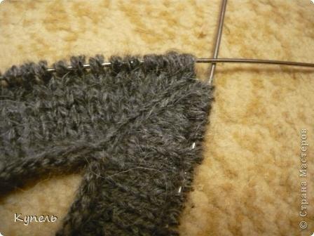 Мастер-класс Вязание: Следочки-черевички Пряжа. Фото 5