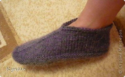 Мастер-класс Вязание: Следочки-черевички Пряжа. Фото 15