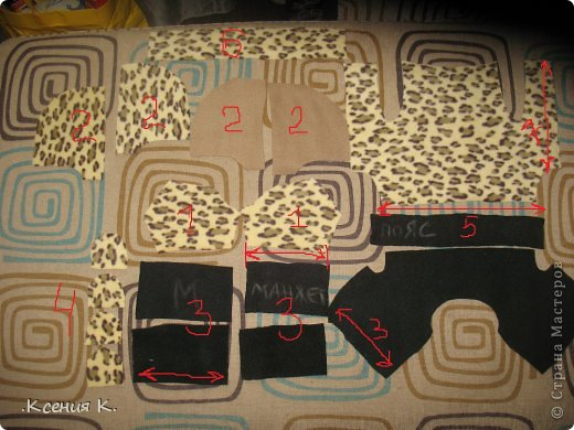 Мастер-класс Шитьё: Обещанный мастер класс по пошиву комбинезона для собак Ткань. Фото 9