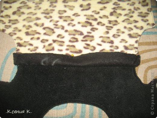 Мастер-класс Шитьё: Обещанный мастер класс по пошиву комбинезона для собак Ткань. Фото 11