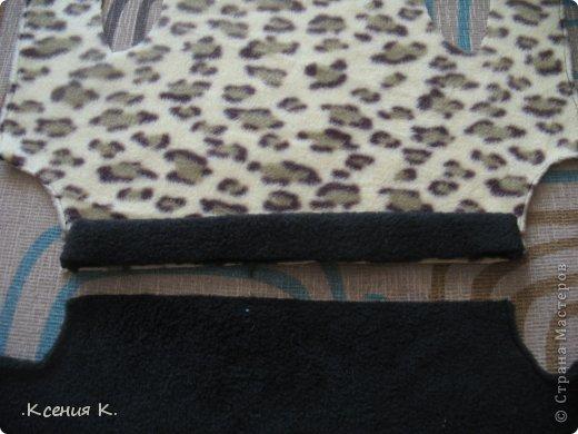 Мастер-класс Шитьё: Обещанный мастер класс по пошиву комбинезона для собак Ткань. Фото 12
