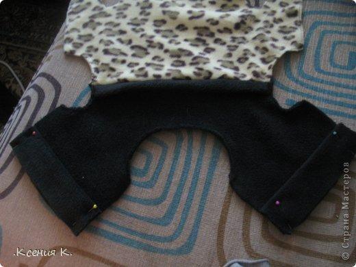 Мастер-класс Шитьё: Обещанный мастер класс по пошиву комбинезона для собак Ткань. Фото 15